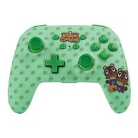 PowerA Animal Crossing Enhanced Wireless Controller for Nintendo Switch - Timmy & Tommy Nook