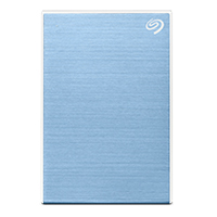 Seagate One Touch 2TB External Hard Drive Light Blue USB 3.0...