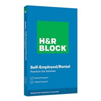 Block Financial Software H&R Block Tax Software Premium 2020