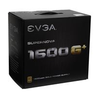 EVGA SuperNOVA 1600 G+ 1600 Watt 80 Plus Gold ATX Fully Modular Power Supply