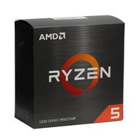 AMD Ryzen 5 5600X Vermeer 3.7GHz 6-Core AM4 Boxed Processor with Wraith Stealth Cooler