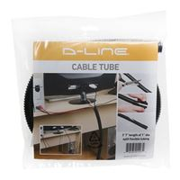"D-Line Cable Tube, 1"" Diameter, 43"" Length - Black"