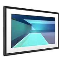 Meural Canvas II The Smart Art Frame with 21.5 in. HD Digital Canvas That Renders Images and Photography in Lifelike Detail, 16X24 Black Frame, WiFi-Connected - Black