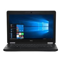"Dell Latitude E5250 12.5"" Laptop Computer Off Lease - Black"