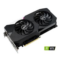 ASUS GeForce RTX 3060 Ti Dual Overclocked Dual-Fan 8GB GDDR6 PCIe 4.0 Graphics Card