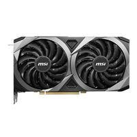 MSI GeForce RTX 3060 Ti Ventus 2X Overclocked Dual-Fan 8GB GDDR6 PCIe 4.0 Graphics Card