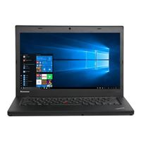 "Lenovo ThinkPad T440 14"" Laptop Computer Off Lease - Gray"