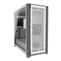 Corsair 5000D Airflow Tempered Glass Mid-Tower ATX Computer Case - White