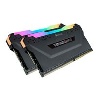 Corsair VENGEANCE RGB PRO 16GB (2 x 8GB) DDR4-3600 PC4-28800 CL16 Dual Channel Desktop Memory Kit CMW16GX4M2D36K1 - Black