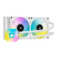 Corsair iCUE H100i ELITE CAPELLIX 240mm RGB Water Cooling Kit - White