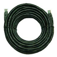 Inland Snagless Cat6 Ethernet Cable 25 ft. - Black