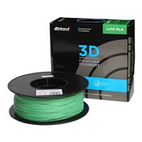 Inland 1.75mm Green Lite PLA 3D Printer Filament - 1kg Spool (2.2 lbs)