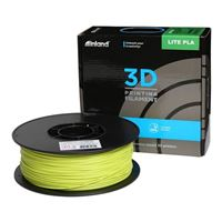 Inland 1.75mm Lulz Green Lite PLA 3D Printer Filament - 1kg Spool (2.2 lbs)