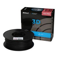 Inland 1.75mm Black PLA Pro 3D Printer Filament - 1kg Spool (2.2 lbs)