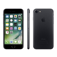 Apple iPhone 7 Plus Unlocked 4G LTE - Black  (Refurbished) Smartphone