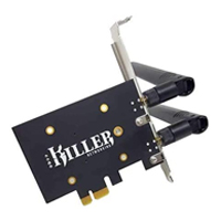 Killer WiFi 6 AX1650 PCIe Add in Card