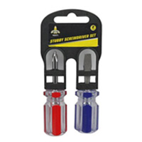 Stubby Screwdriver Set