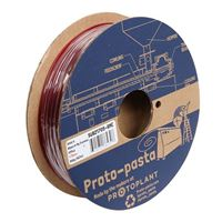 ProtoPlant 1.75mm Blood of My Enemies Translucent Red HTPLA 3D Printer Filament - 0.5kg Spool (1.1lbs.)