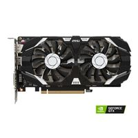 MSI NVIDIA GeForce GTX 1050 Ti Overclocked Dual-Fan 4GB GDDR5...