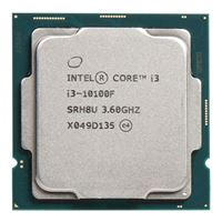 Intel Core i3-10100F Comet Lake 3.6GHz Quad-Core LGA 1200 Boxed Processor