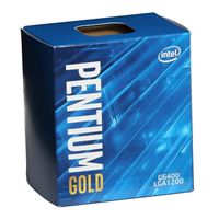 Intel Pentium Gold G-6400 Comet Lake 4.0GHz Dual-Core LGA 1200 Boxed Processor