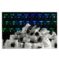 Glorious PC Gaming Race Kailh Mechanical Keyboard Switches (Black)