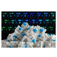 Glorious PC Gaming Race Gateron Mechanical Keyboard Switches (Blue)