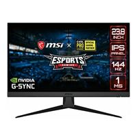 "MSI OPTIX G242 23.8"" Full HD 144Hz HDMI DP FreeSync/ G-Sync Compatible IPS LED Gaming Monitor"