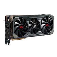 PowerColor AMD Radeon 6800 XT Red Devil Overclocked Triple-Fan 16GB...