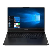 "Lenovo Legion 5 17IMH05H 17.3"" Gaming Laptop Computer Refurbished - Black"