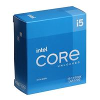 Intel Core i5-11600K Rocket Lake 3.9GHz Six-Core LGA 1200 Boxed...