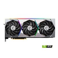 MSI NVIDIA GeForce RTX 3090 SUPRIM X Triple-Fan 24GB GDDR6 PCIe 4.0 Graphics Card