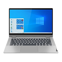 "Lenovo Flex 5 14IIL05 14"" 2-in-1 Laptop Computer Refurbished - Grey"