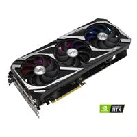 ASUS NVIDIA GeForce RTX 3060 ROG Strix Overclocked Triple-Fan 12GB GDDR6 PCIe 4.0 Graphics Card