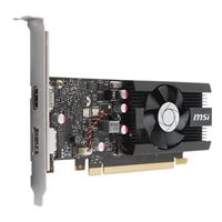 MSI NVIDIA GeForce GT 1030 LP Overclocked Single-Fan 2GB GDDR5 PCIe 3.0 Graphics Card