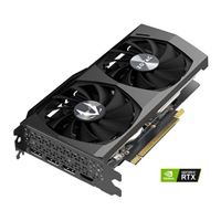 Zotac NVIDIA GeForce RTX 3060 Twin Edge Overclocked Dual-Fan 12GB GDDR6 PCIe 4.0 Graphics Card