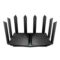 TP-LINK AX6600 Tri-Band Wi-Fi 6 Router, 1 x 2.5 Gbps WAN/LAN Port, 1 x 1 Gbps WAN/LAN Port, 3 x 1 Gbps LAN Ports and 2 USB Ports