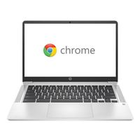 "HP Chromebook 14a-na0010nr 14"" Laptop Computer - Silver"
