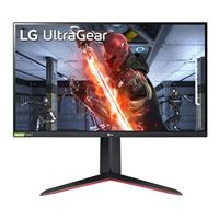 "LG UltraGear 27GN650-B.AUS 27"" Full HD 144Hz HDMI USB-C DP FreeSync/ G-Sync Compatible HDR10 IPS LED Monitor"