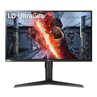 "LG 27GL83A-B.AUS Ultragear 27"" QHD 144Hz HDMI DP FreeSync Technology, G-Sync Compatible IPS LED Gaming Monitor"