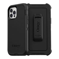 Otter Products Defender Series Case for Apple iPhone 12/ 12 Pro - Black