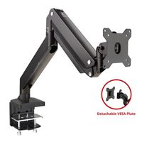 SIIG Single Monitor Heavy-Duty Premium Gas Spring Desk Mount -...