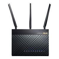 ASUS RT-AC66R Dual-Band Wireless-AC1750 Gigabit Router -...