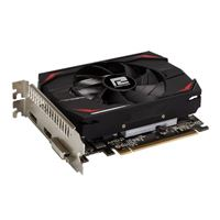 PowerColor AMD Radeon RX 550 Single-Fan 4GB GDDR5 PCIe 3.0 Graphics Card