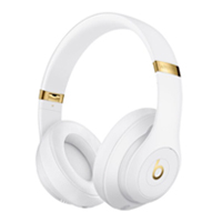Apple Beats Studio3 Wireless Noise Cancelling Over-Ear Headphones - White