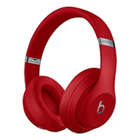 Apple Beats Studio3 Wireless Noise Cancelling Over-Ear Headphones - Red