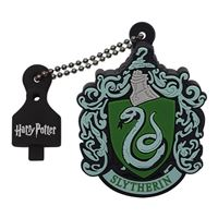Emtec International 32GB Harry Potter Crest Slytherin Hi-Speed USB 2.0 Flash Drive - Black/ Green
