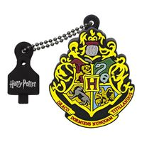 Emtec International 32GB Harry Potter Crest Hogwarts Hi-Speed USB 2.0 Flash Drive - Black
