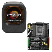 AMD Ryzen Threadripper 1950X, MSI X399 GAMING PRO CARBON AC CPU/Motherboard Bundle