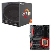 AMD Ryzen 7 2700 with Wraith Spire Cooler, ASRock X470 Gaming K4 CPU/Motherboard Bundle